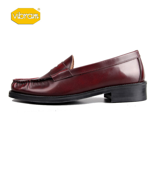 [ATENA] WINE PENNY LOAFER